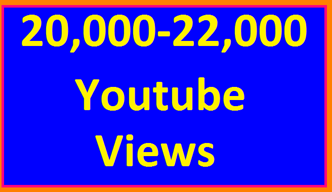 Instant start 20,000/20k to 22,000/22k  HR View's Non Drop Refill Guaranteed Very Short Time completed