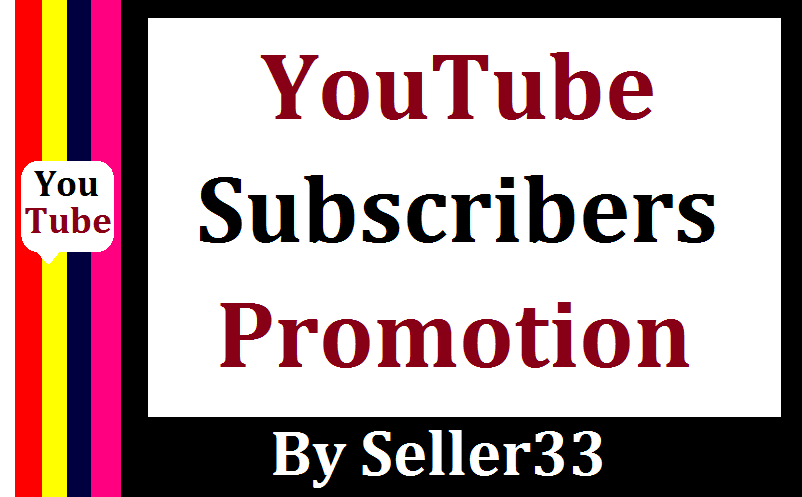YOUTUBE CHANEL PROMOTION NON DROP & HIGH QUALITY IN 3 hrs DELIVERY