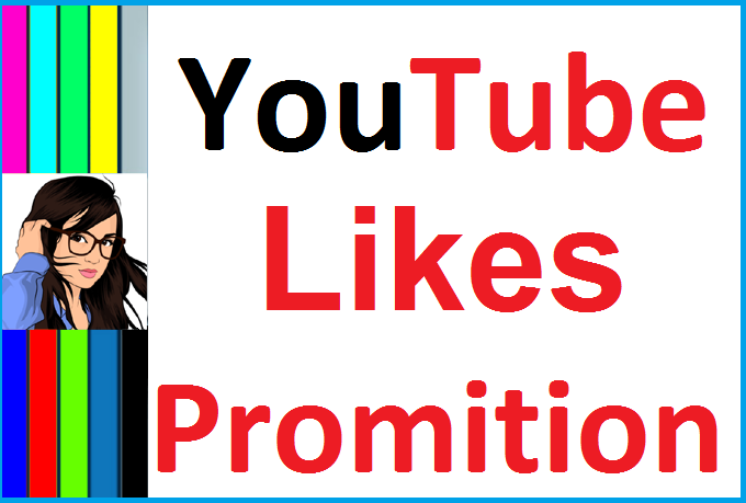 Manually Video Likes Promotion via real user