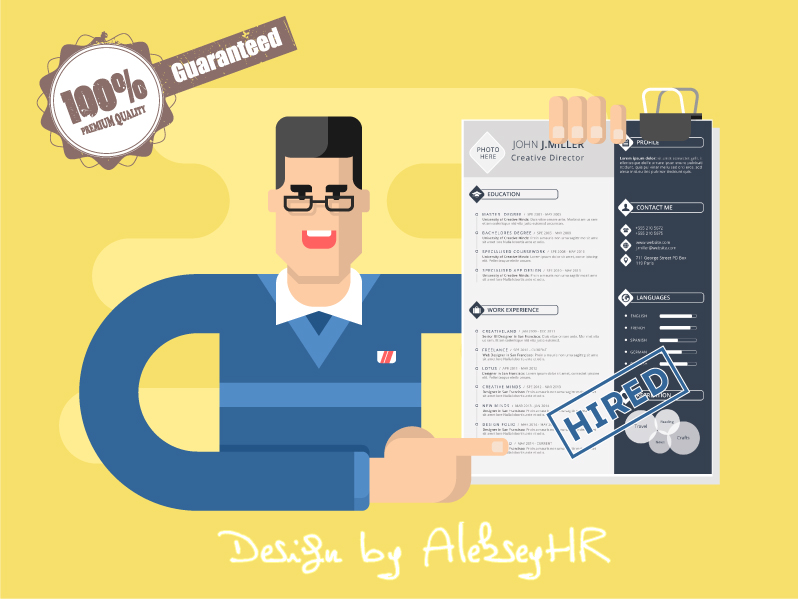 Resume Cover Letter Designed For You For 5