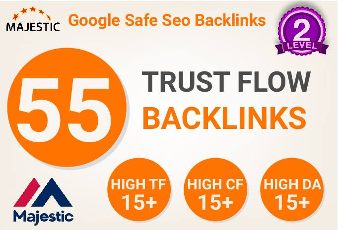 55 High Trust Flow Citation Flow Unique Domain Backlinks