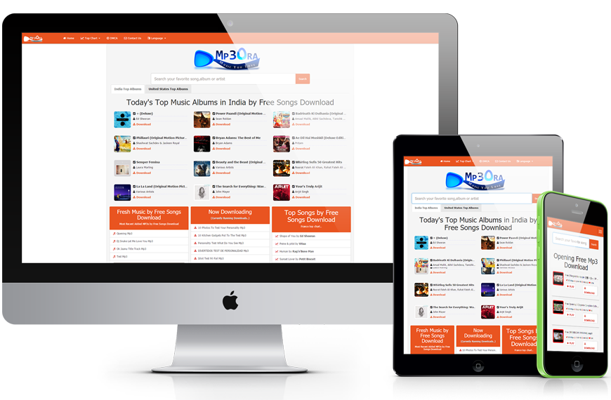Mp3OraXtr Mp3 Search Engine PHP Script V2