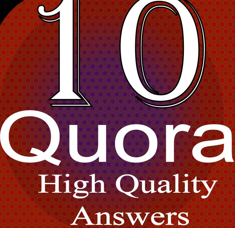 Create you 10 Quora answers with your live URL and keyword