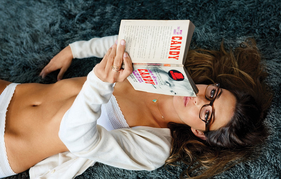 Make 1 Beautiful woman holding Your Book