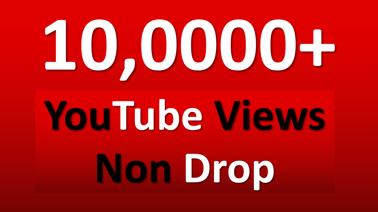 Give You 100,000 YouTube Views