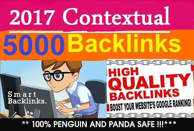create 5000 Contextual Do follow Backlinks