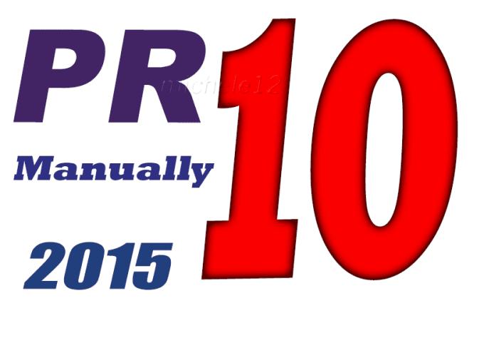 Permanent manual Build PR10 Backlinks include Edu High PR