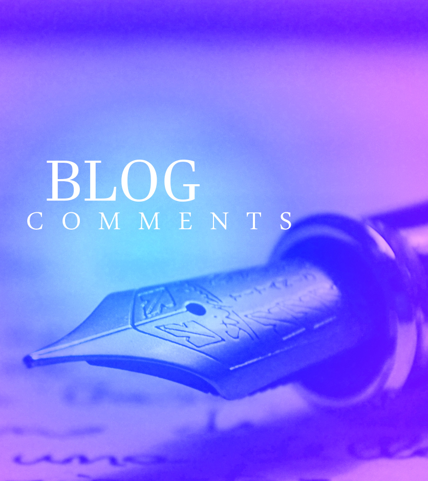 5 extremely high quality comments on your blog