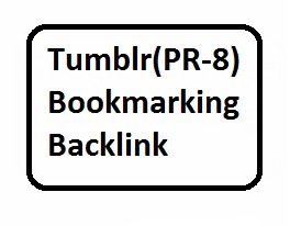 15 Tumblr PR-8 bookmarking backlinks For Website