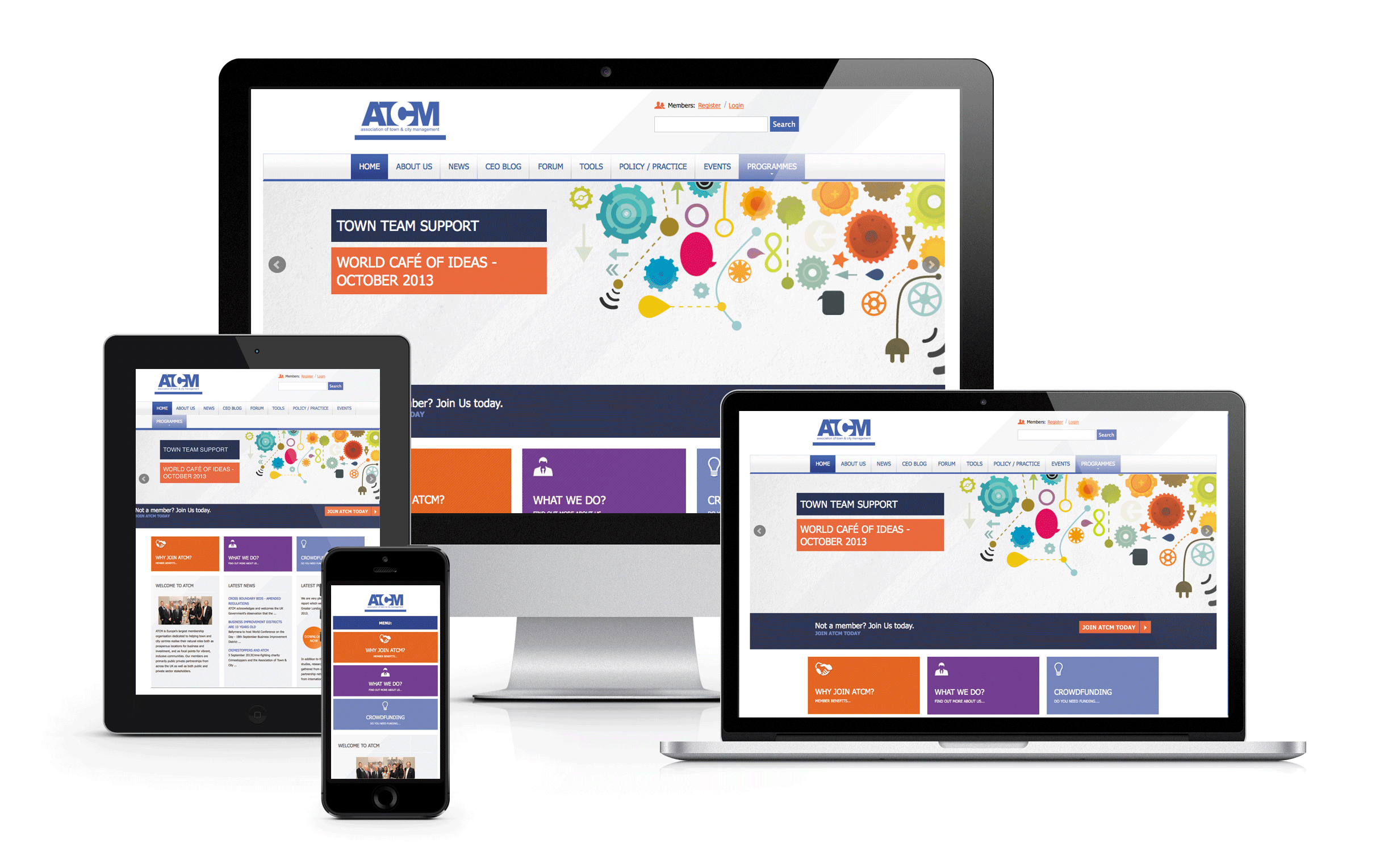 make your website responsive (mobile friendly)