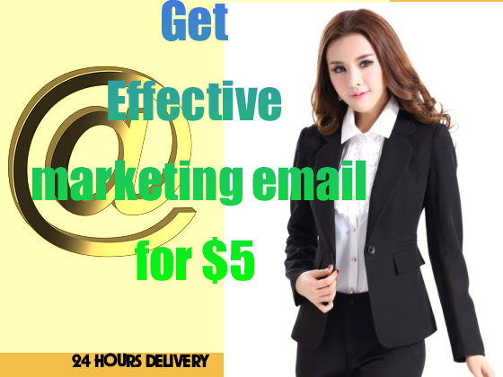 write Effective marketing email for email campaign