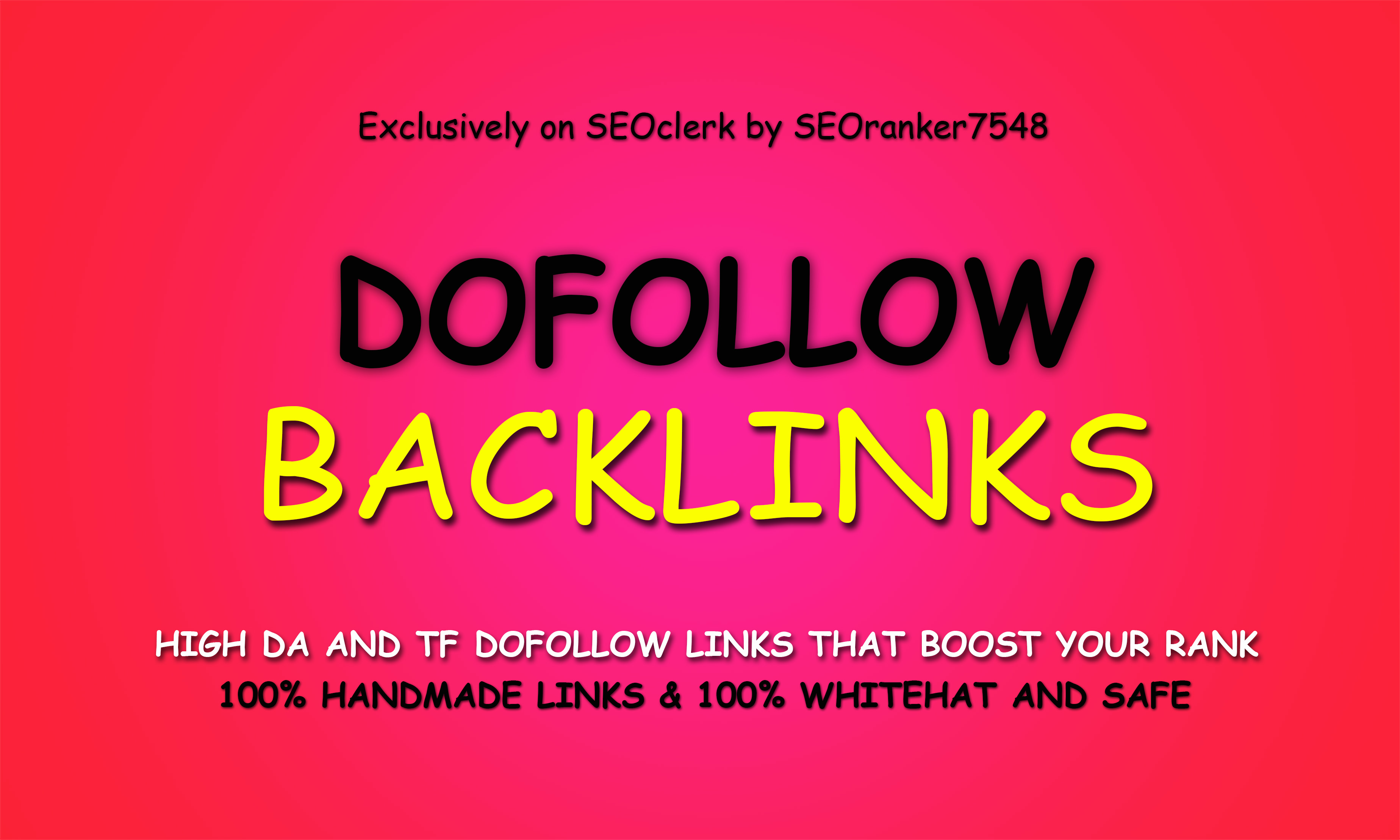 Permanent 55 Authority Dofollow Backlinks