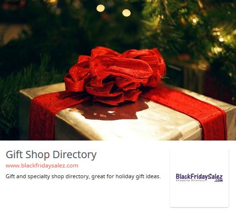 1-Year Shopping Directory Listing!