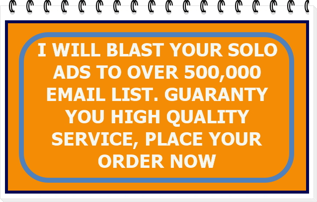 Blast your solo ads to converting email list