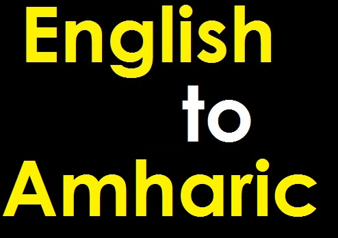 Translate & Subtitle 90 minute English film to Amharic