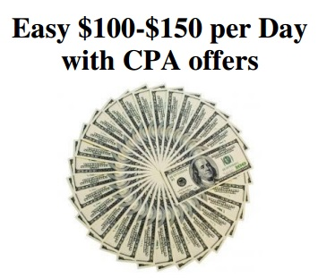 Earn $100/ Day Easily With CPA