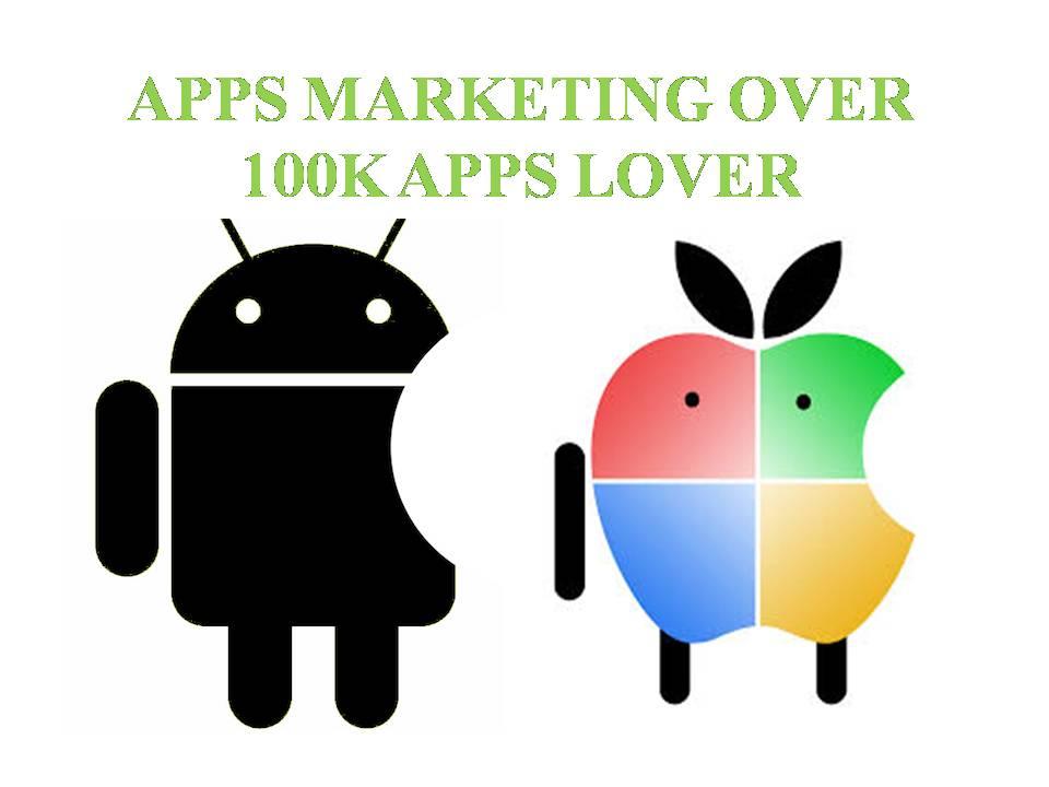 Promote your app or New developed apps,  games, websites over 100K apps lover
