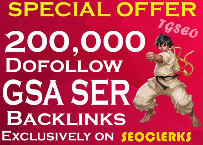 Big Blast 200,000+ Verified GSA SER Backlinks for SEO