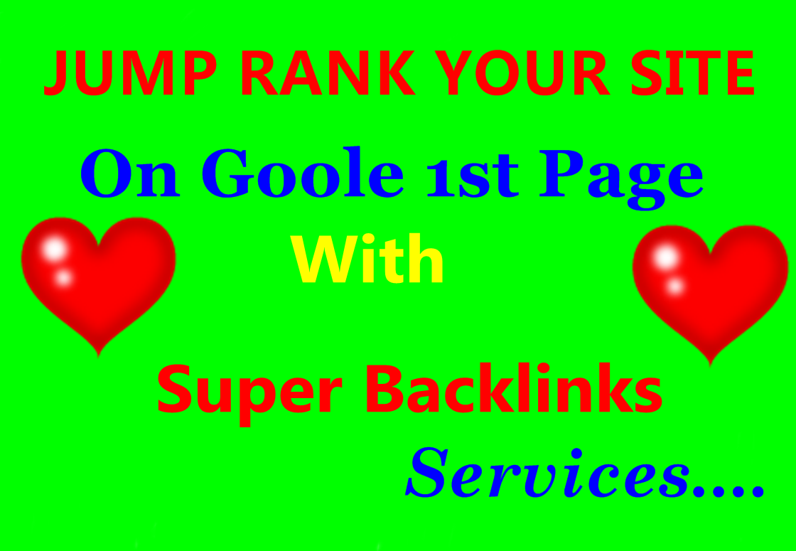 Boost your Ranking with High PR9 to PR4 and High PA-DA Quality Backlinks