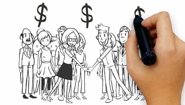 create a whiteboard animation video for business markiting