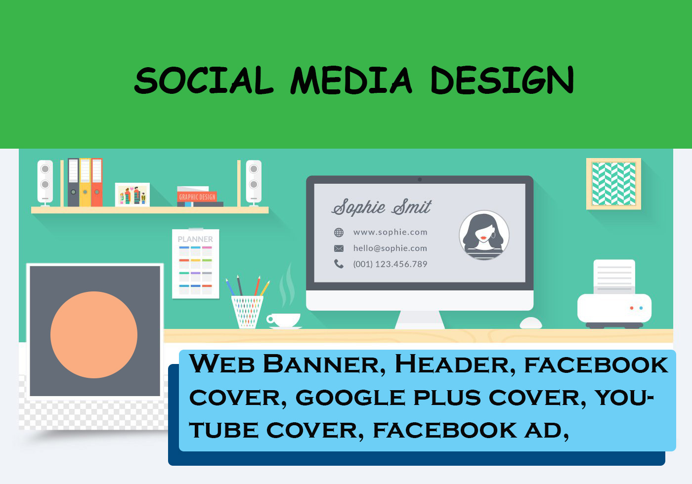 Wesite Banner or Website Slider Design in 24 Hours