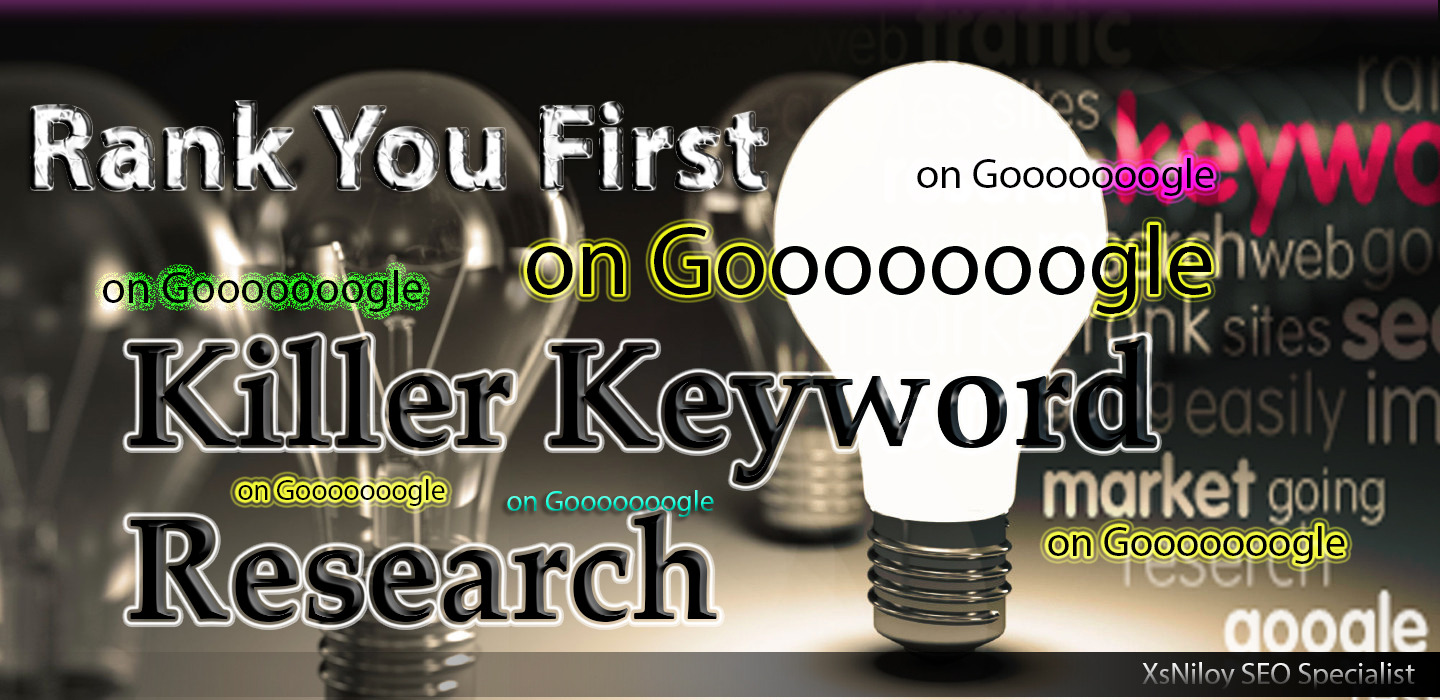 Do an in-depth SEO keyword research on your niche