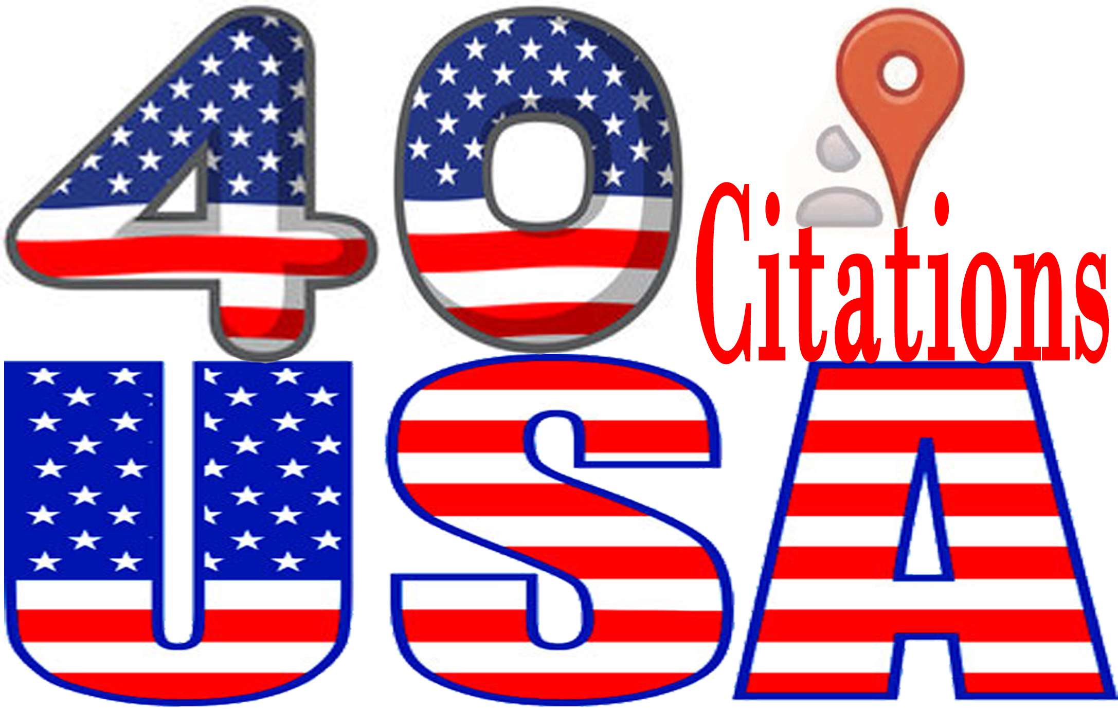 do 40 Live USA local citations for your local business.I always ensure best work.