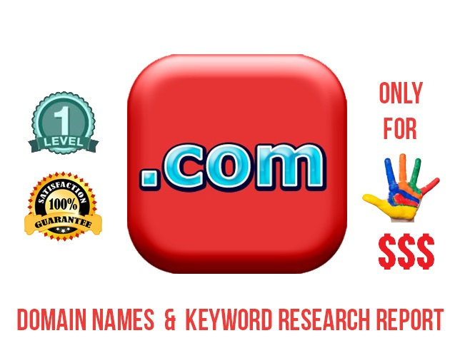 suggest seo friendly Best DOMAIN names with domain research