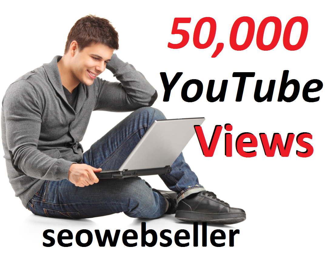 Limited Offer 50,000 YouTube Video Views 30 days Refill Guarantee