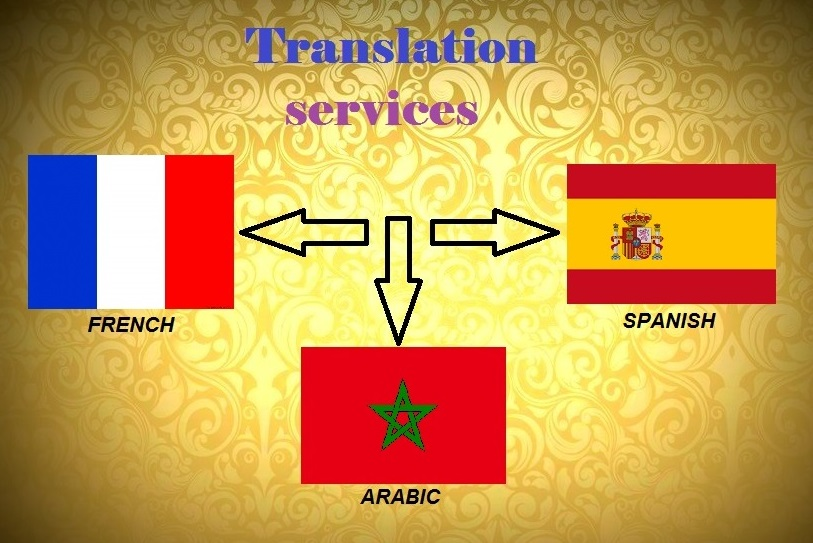 translate languages arabic french and spanish