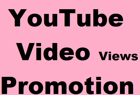 Promote YouTube Video for Promotion and Seo Marketing