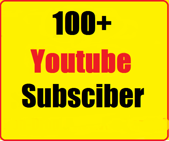 100+ Youtube Channel Subscribers very fast just