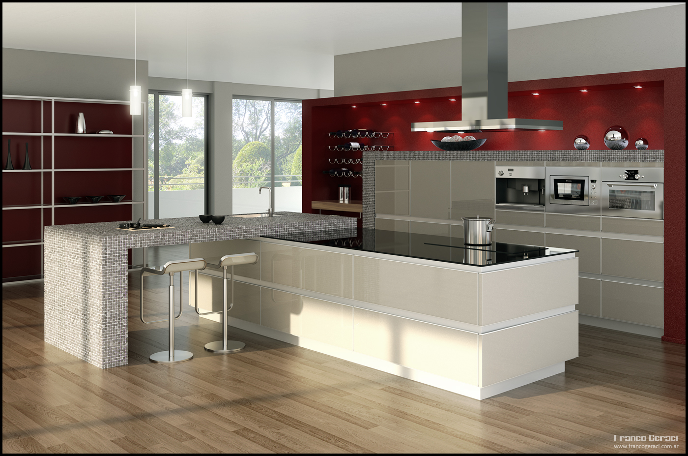 Kitchen 3D Design Images for $15 - SEOClerks