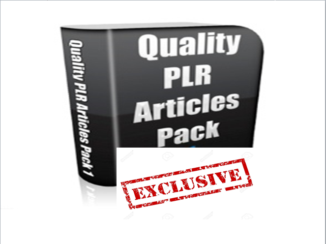 Get HQ 50000 PLR articles on various niches with great bonus