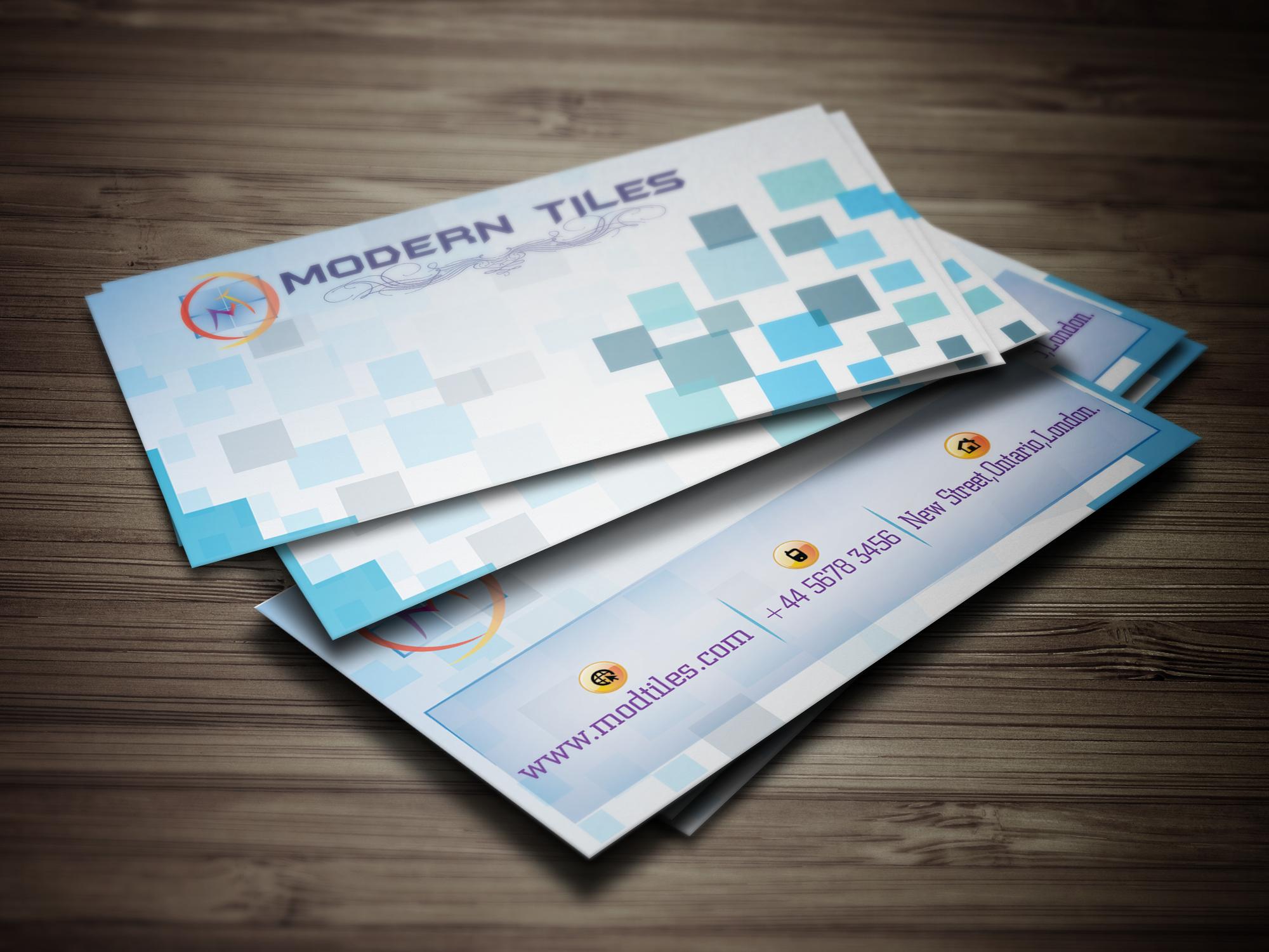 create PROFESSIONAL 2 unique business cards