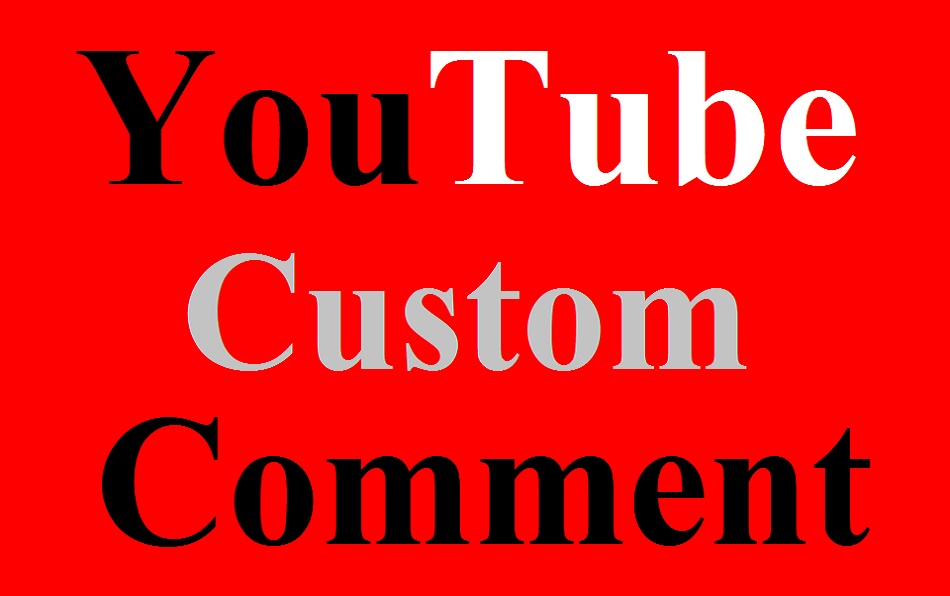 Get Real 50 Youtube video custom comments super fast delivery within 24 hours