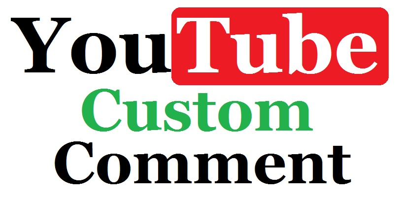 Get real 25 Youtube video custom comments super fast delivery