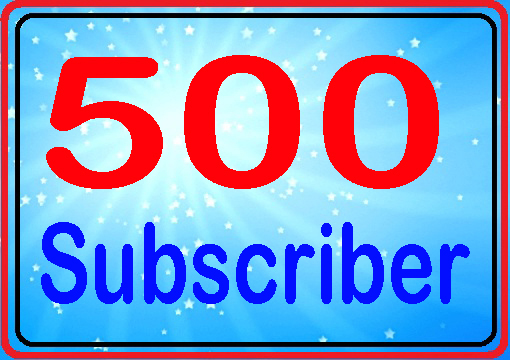 Guarantee 510 subscribers active channel fully safe very fast complete