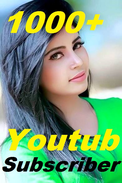 1000+ Non Drop You tube Subscribers or 2000+ Yout ube Likes Or 600+ You tube Auto Comments