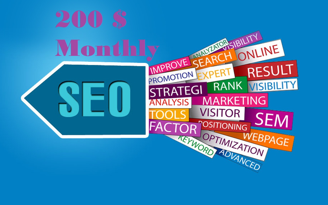 NO.1 Position at Google. Monthly SEO Service