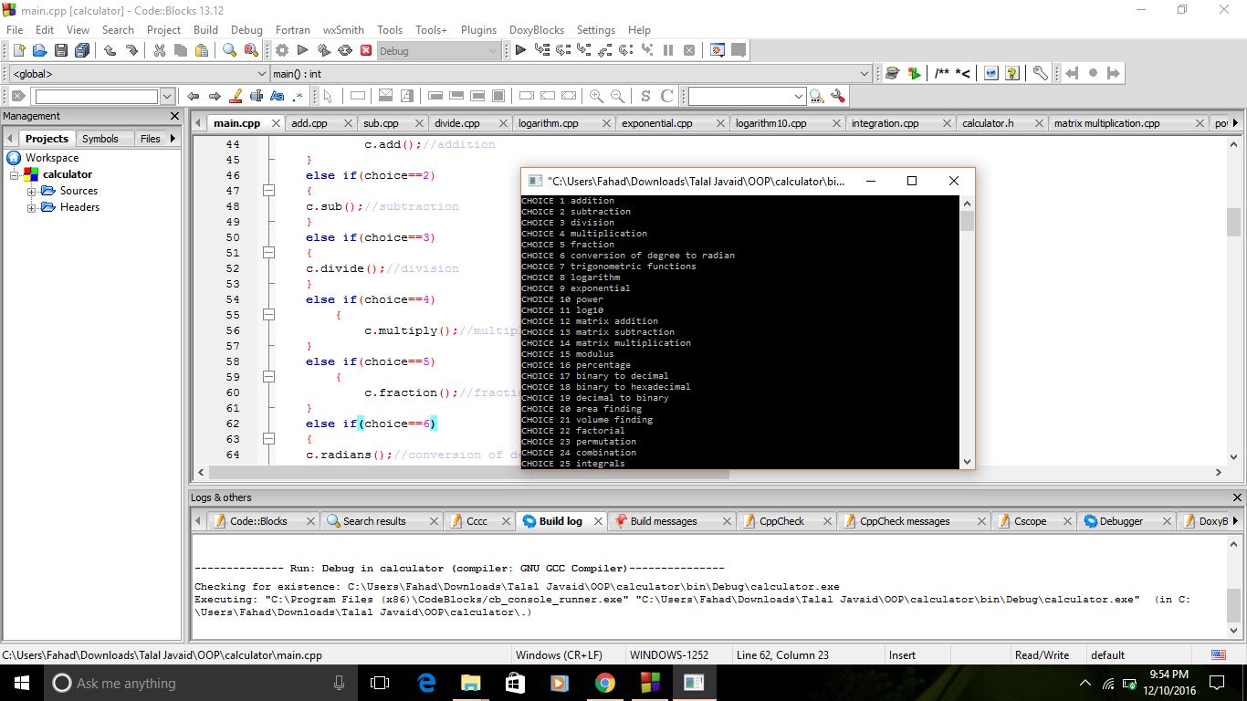 Create a C++ program