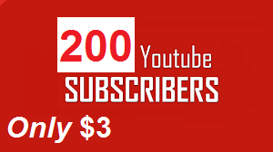 Get 200+ Real Active Human Verified YouTube Channel Subscribes