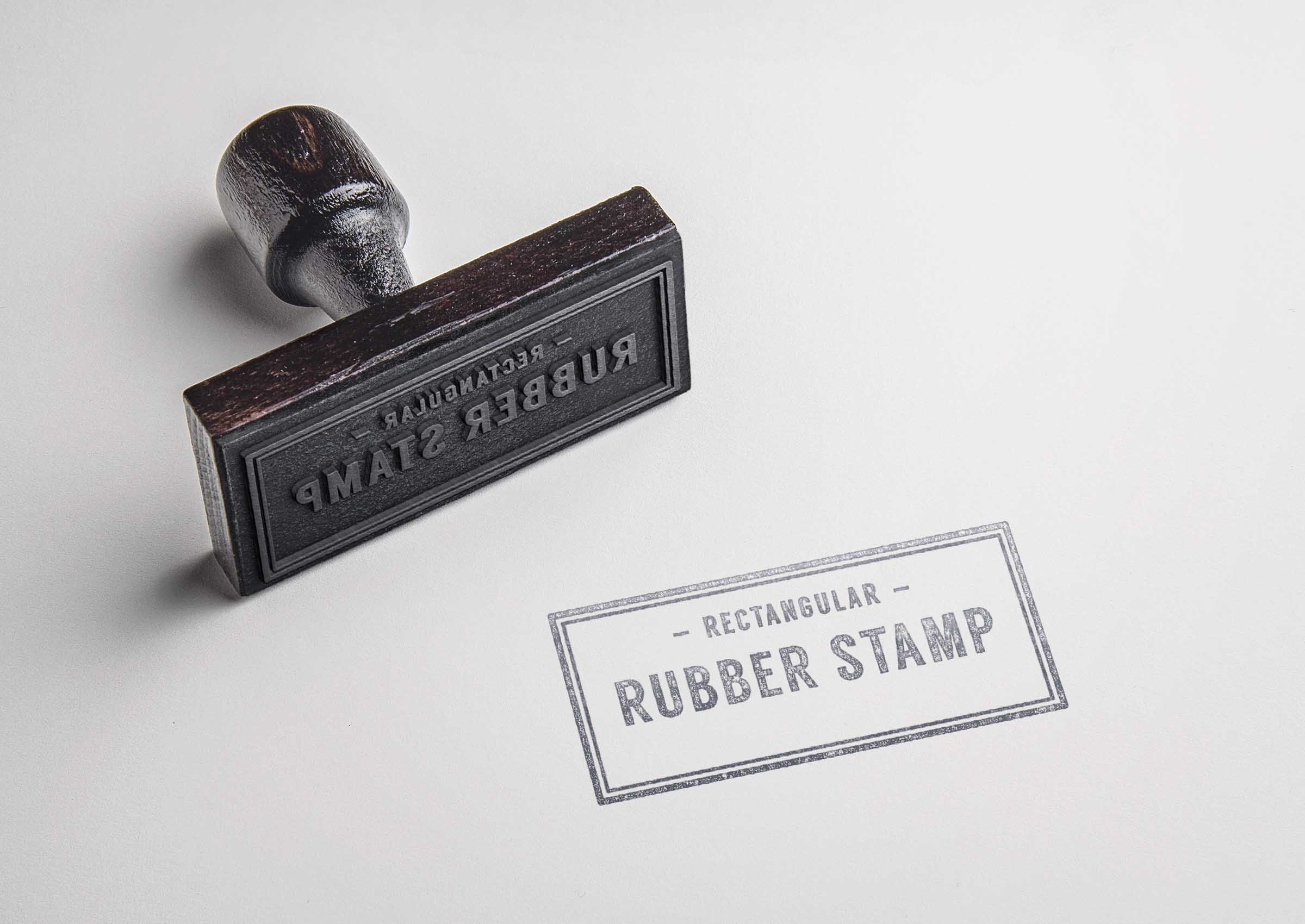 make 3 Stamps of your logo