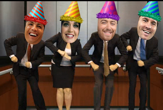 Create this amazing Happybirthday video with your Face or your Friends's faces