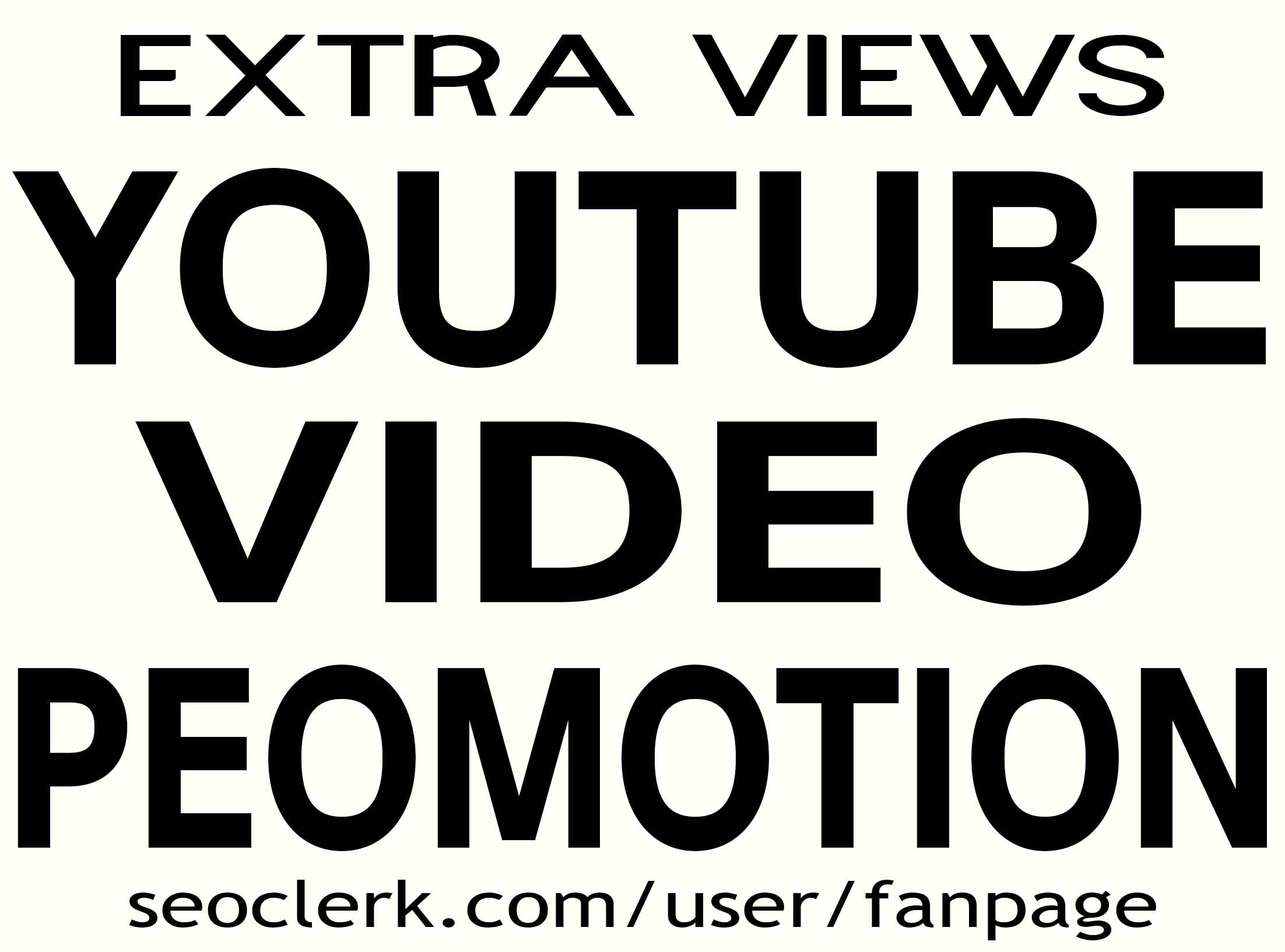 YOUTUBE VIDEO PROMOTION NON DROP AND LIFETIME GUARANTEE