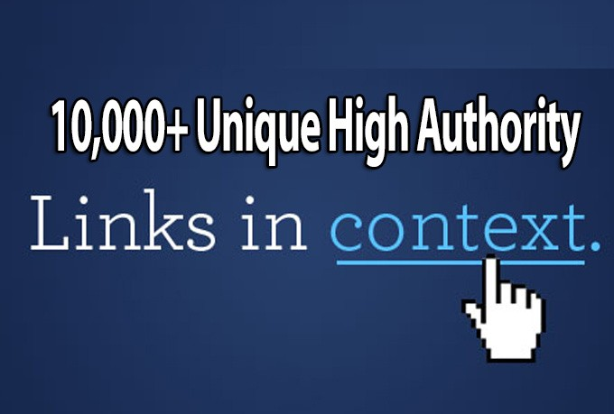 build 10000 authority backlinks for Google ranking