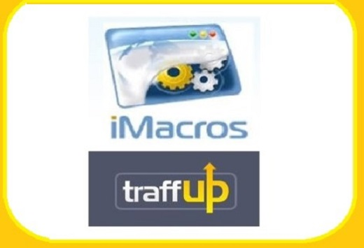 Give you 8 Traffup iMacro scripts
