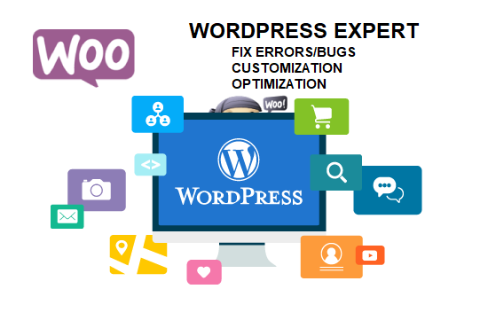 Fix WordPress,  Shopify,  PHP/HTML Issues On Your Website