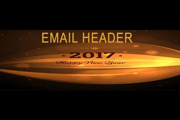 Design an email header