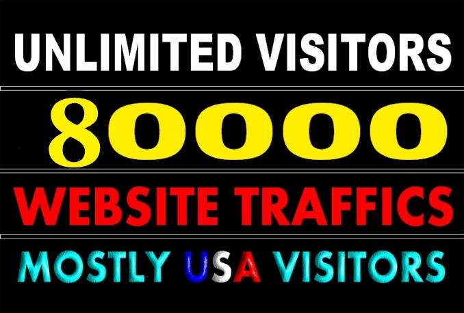 send 80,000+ visitors to your website